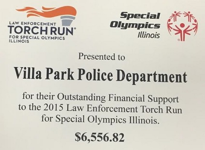 Law Enforcement Torch Run Award